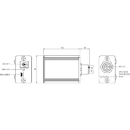 Fieldbus Analogno/digitalni vhodno/izhodni modul