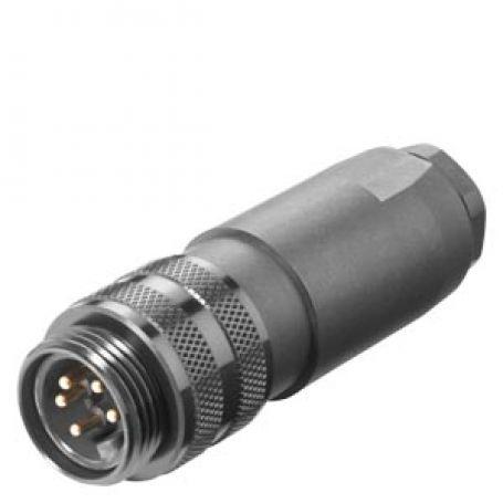 Okrogel konektor (industrijski konektor)