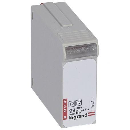 Prenapetostni odvodnik za napajalne sisteme