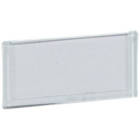 Nosilec besedilne plošce za krmilne elemente