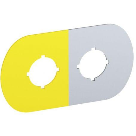 Plošcica s simbolom za krmilne in signalne elemente