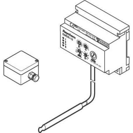 Regulator temperature za razdelilnik