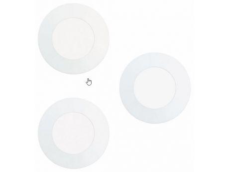 SET 3X LED-VGRADNA SVETILKA 85MM 4000K 2.7W BELA FUEVA 1