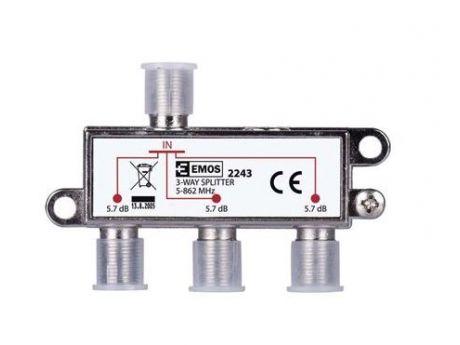 DELILEC TV SIGNALA IEC EU2243 TRISTRANSKI J0003 EMOS