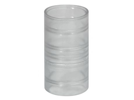 SPOJNIK PVC ZA REBRASTO CEV D20  10655 INSET