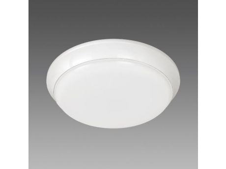 SVETILKA TORTUGA 17W LED 3000K IP54 D305mm 1300lm BELE B.