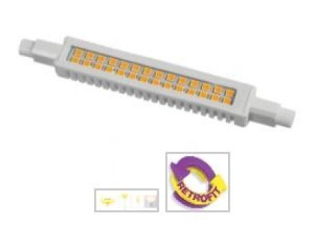 SIJALKA R7S LED 117MM 220-240V 3000K 10W SLIM