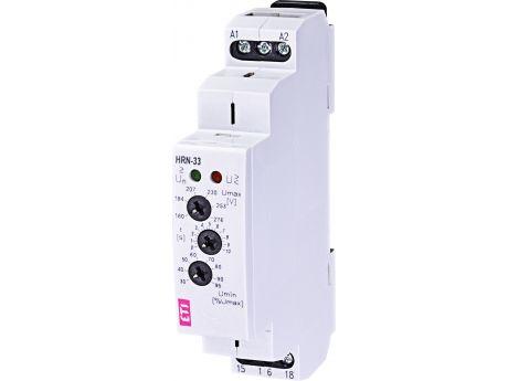 RELE ZA NADZOR NAPETOSTI HRN33 160-276V AC MIN IN MAX 002470015