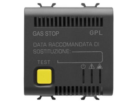 LPG DETECTOR 2M 12V AC/DC BLACK GW12711