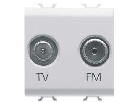 VTIČNICA CHORUS 2M TV+FM BELA GW10381