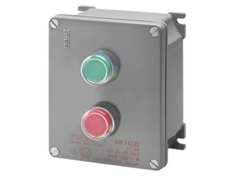 ATEX CASING + START/ STOP TIPKA S GW74233