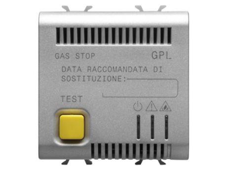 LPG DETECTOR. 2M 12V AC/DC TITANIUM GW14711