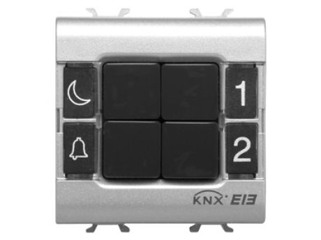 P-BUTTON PANEL. FL-MOUNTING 4-CH EASY T GW14752