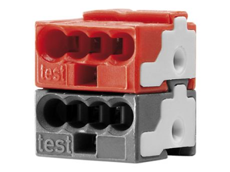 BUS CLAMP RED-BLACK GW90807