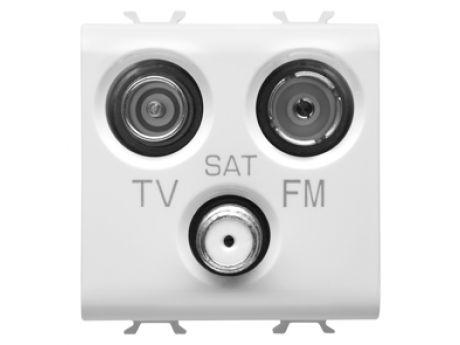 VTIČNICA CHORUS 2M TV+FM+SAT BELA GW10382