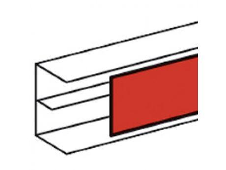 POKROV PARAPETNEGA KANALA DLP 65MM PVC BEL 010521
