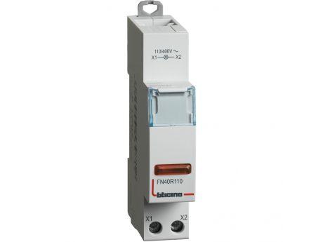 SVETILKA LED 1M RDEČA 110/400VAC FN40R110