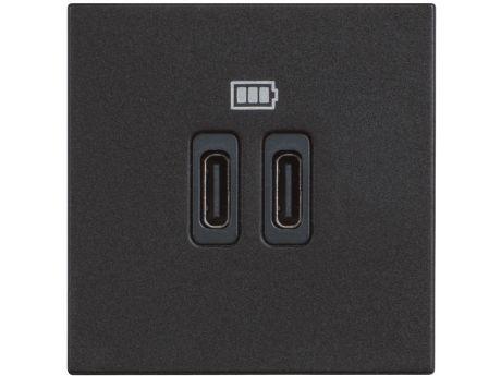 VTIČNICA CLASSIA USB POLNILNA MOD. 5V C 2M ČRNA