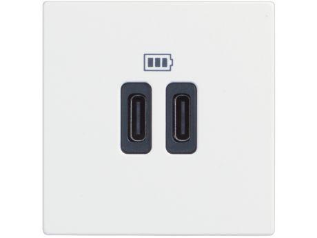 VTIČNICA CLASSIA USB POLNILNA MOD. 5V C 2M BELA