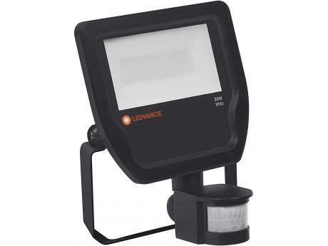 REFLEKTOR LED FLOODLIGHT LEDVANCE 20W 3000K ČRN IP65 S SENZORJEM