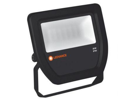 REFLEKTOR LED 20W 4000K ČRN