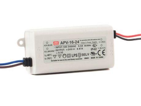 NAPAJALNIK APV-16-24 16W 0,5A 24VDC