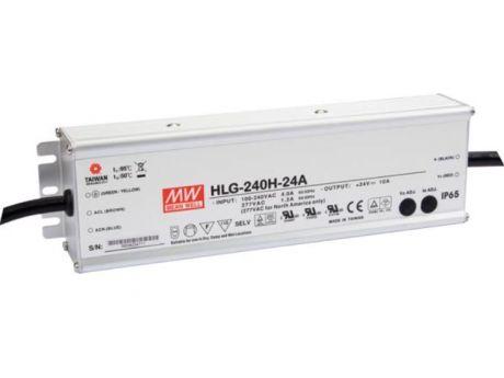 NAPAJALNIK HLG-240H-24A  240W 24V DC IP65