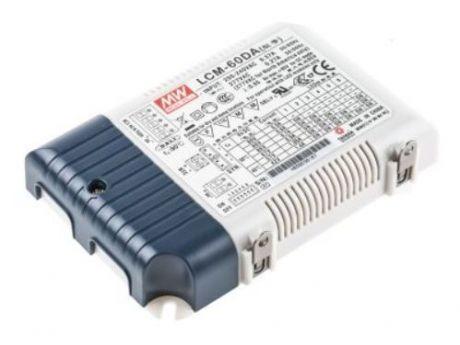 NAPAJALNIK ZA LED LCM-60DA 60W 2-118V DC 500mA DALI