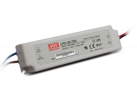 NAPAJALNIK LPC-35-700 35W 9-48V DC IP67