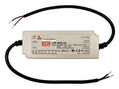 NAPAJALNIK LPF-90D-24 90W 24VDC IP67 DIM. 1-10, PWM, RES