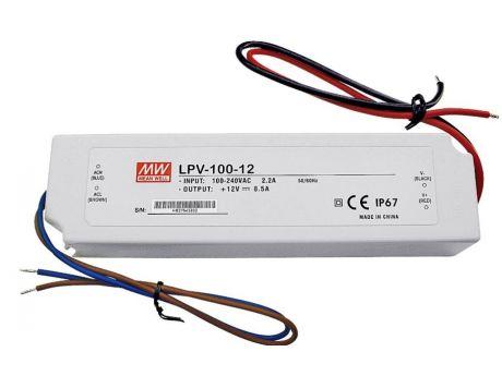 NAPAJALNIK LPV-100-12 100W 4,2A 12VDC IP67