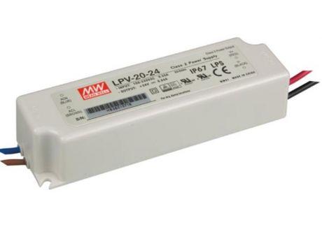 NAPAJALNIK LPV-20-24 20W 0,85A 24VDC IP67