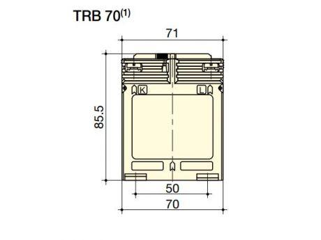 TOKOVNI TRANSFORMATOR TRB70 30/5A CLASSE 0.5 5VA SOCOMEC