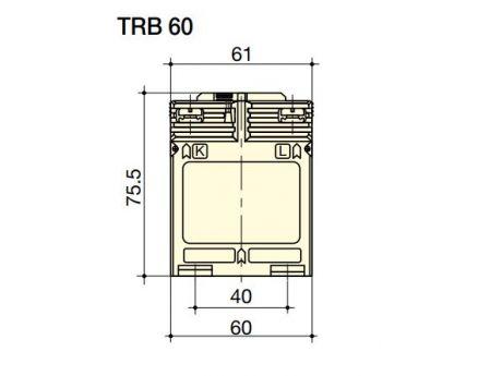 TOKOVNI TRANSFORMATOR TRB60 20/5A  SOCOMEC 192T0520
