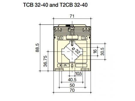 TOKOVNI TRANSFORMATOR TCB32-40 5VA   SOCOMEC 192T4020ZIG