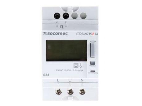 ŠTEVEC ELEKTRIČNE ENERGIJE E10 1F 63A 1T  SOCOMEC 48503000