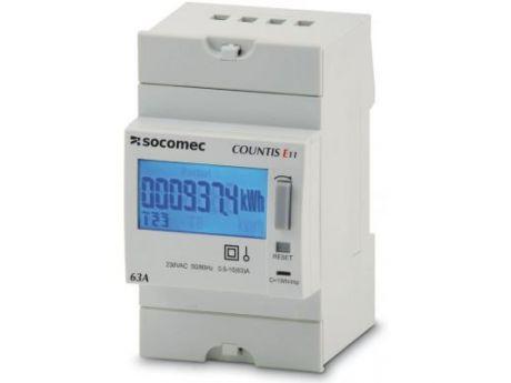 ŠTEVEC ELEKTRIČNE ENERGIJE E11 1F 63A 2T  SOCOMEC 48503001