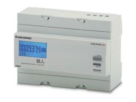 ŠTEVEC ELEKTRIČNE ENERGIJE E30 3F 1T 100A  SOCOMEC 48503005