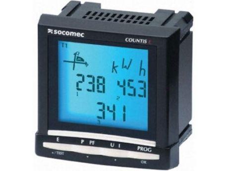 ŠTEVEC ELEKTRIČNE ENERGIJE E50 3F CT/5A 4-KVADR.  SOCOMEC 48503010