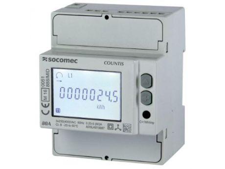 ŠTEVEC ELEKTRIČNE ENERGIJE E28 3F 80A 2T PULSE  ETHERNET MID SOCOMEC 48503055