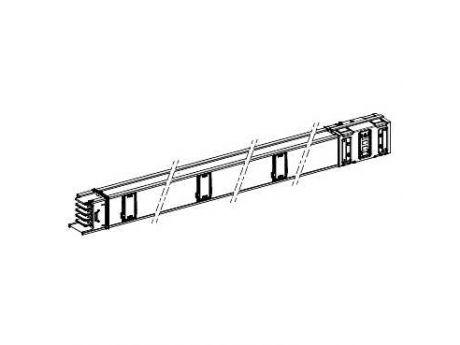 ZBIRALČNI RAVNI ELEMENT CANALIS 3L + N + PE 3M 630A 6 VTIČNIC KSA630ED4306