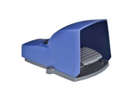 ENOJNO NOŽNO STIKALO - IP66 - S POKROVOM - PLASTIČNO - MODRO - 1 NC+1 NO XPEB310