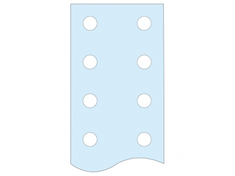 NAVRTANA NAVPIČNA PLOSKA ZBIRALKA LINERGY BS 60 X 10 D 1675 04526