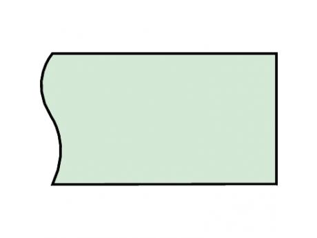 VODORAVNA PLOSKA ZBIRALKA LINERGY BS 100X10 L2000 04550