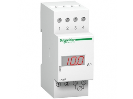 MODULARNI DIGITALNI AMPERMETER IAMP - 230 V - 0 DO 10 A 15202