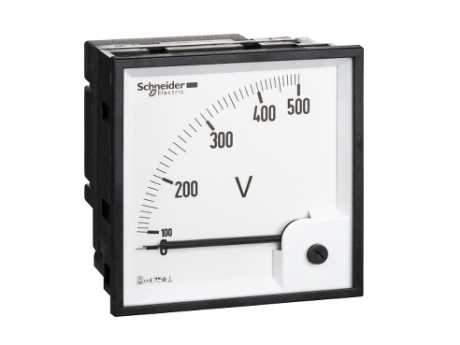 VOLTMETER VLT POWERLOGIC - 96 X 96 - FEROMAGNETNI - 0 DO 500 V 16075
