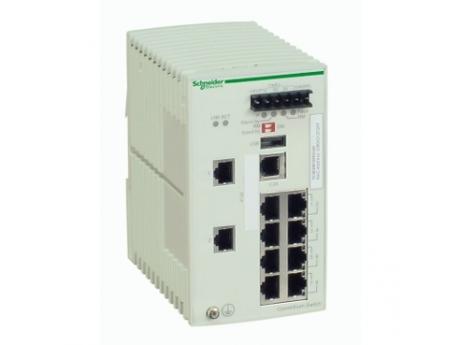 STIKALO ZA UPRAV. ZA ETHERNET TCP/IP - CONNEXIUM - 8 VRAT B. BAKRA + 2 ZA OPT. VL. TCSESM103F2LG0