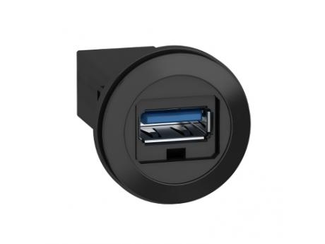 NA PLOŠČO NAMEŠČENA VRATA USB 3.0 - ?22 MM - ZA VTIČNICO USB VMESNIKA, TIP A XB5PUSB3