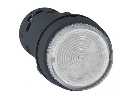 OSVETLJENA TIPKA - LED - POVRATNA VZMET - 1 NO - PROSOJNA - 230 V XB7NW37M1