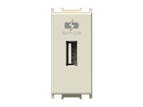 POLNILNIK MODUL USB 5V 2,1A 1M  BEŽ EM66IW-U PAKIRANJE UNIPACK